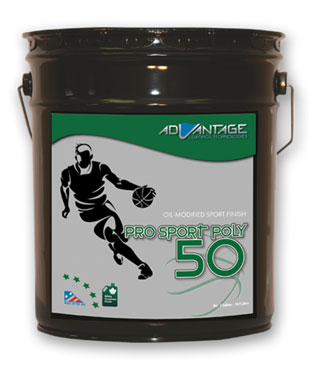 Pro Sport Poly 50 – Oil-based Gym Finish