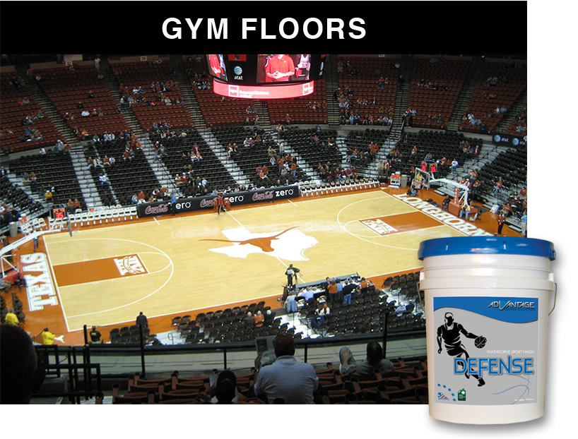 Sports & Gym Floor Finishes