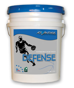 Defense Gym Finish – Water Based Gym Finish