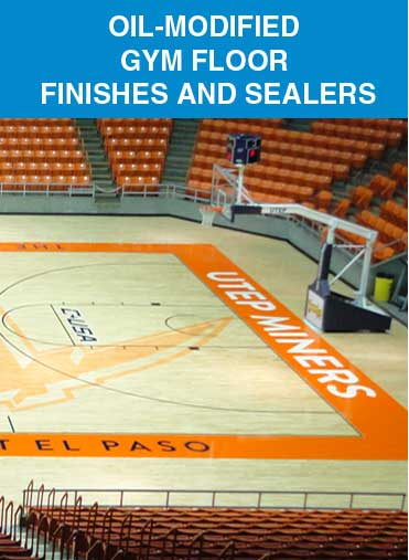 Oil Modified Gym Floor Finishes & Sealers