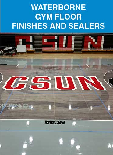 Waterborne Gym Floor Finishes & Sealers
