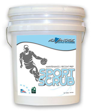 Sport Scrub Recoat Cleaner – Gym Recoat Solution