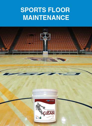 Sports Floor Maintenance