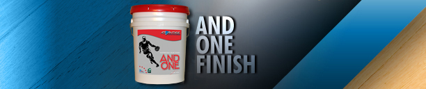 And One Gym Finish – Waterbased Gym Finish