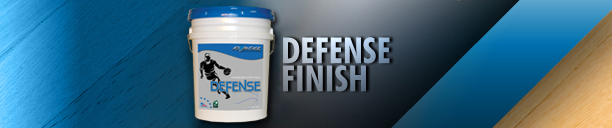 Defense Gym Finish – Waterbased Gym Finish