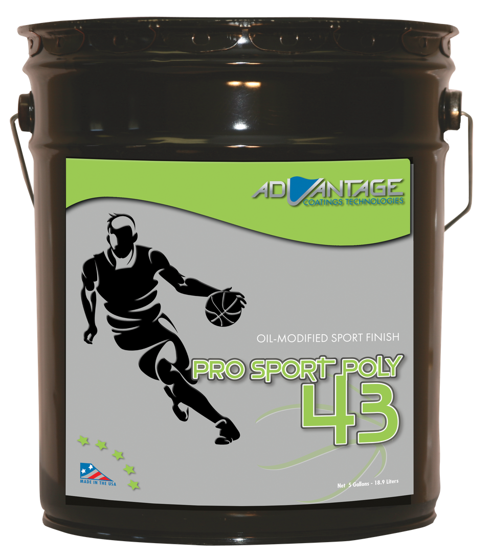 Pro Sport Poly 43 – Oil-based Gym Finish